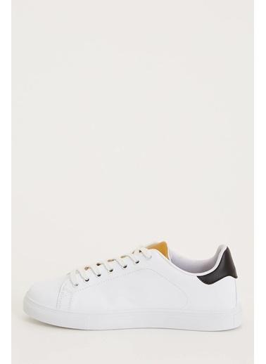 DeFacto Bağcıklı Ayakkabı Sarı